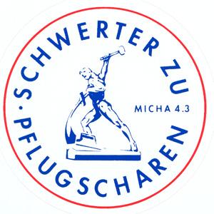 Logo Schwerter zu Pflugscharen