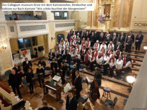Collegium Musicum Greiz mit dem Greizer Kantatenchor, Kinderchor und Solisten