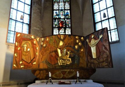 Altar Kirche Aubachtal Bild: Christian Colditz